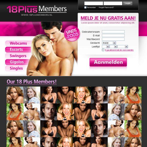 18 Plus Members