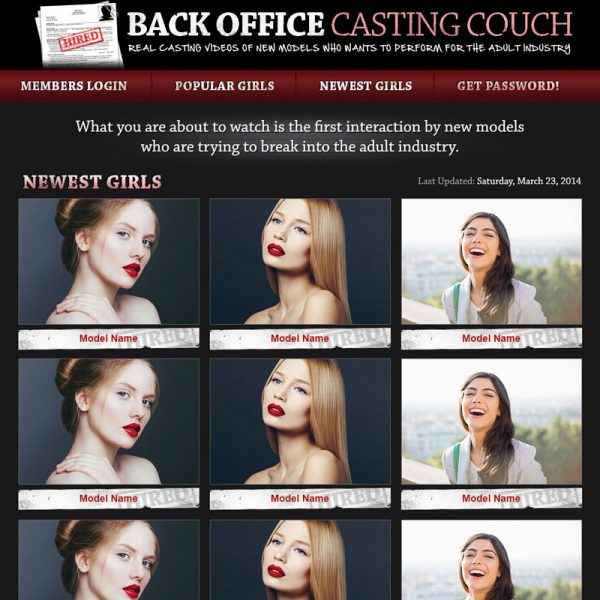Back Office Casting Couch