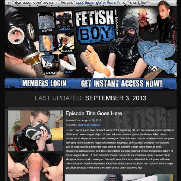 Fetish Boy